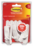 3M 17001-VP-6PK 6-Pk. Medium Hook