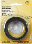 Hillman Fasteners 123108 24-Gauge Green Floral Wire, 100-Ft.