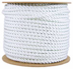 Wellington Cordage 11009 1/2-Inch x 300-Ft. Silvery White Nylon Rope