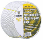 Wellington Cordage 10990 3/8-Inch x 100-Ft. Silvery White Nylon Rope