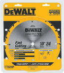 Dewalt Accessories DW3112 10-Inch 24-TPI Table Saw Blade