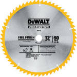 Dewalt Accessories DW3126 Top Bevel Crosscut Blade, 12-In., 60-Teeth