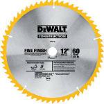 Dewalt Accessories DW3126 Top Bevel Crosscut Blade, 12-In., 60-Teeth