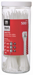 Gardner Bender 50098N Cable Tie Canister, 500-Pc.