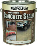 Rust-Oleum 239416 Concrete Sealer, Wet Look, 1-Gal.