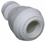 Larsen Supply 09-1219 15/16 x 55/64-Inch Dual Thread x 27 Male White Plastic Swivel Spray Aerator