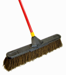 Quickie Mfg 00636 Super Bulldozer Push Broom, Rough Surface, Palmyra Bristles, 24-In.