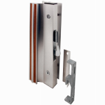Prime Line Products 14206 Sliding Glass Door Handle/ Lock, Aluminum, Universal