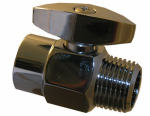 Larsen Supply 08-2471 Chrome Plated Brass Showerhead Flow Adjuster
