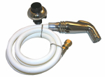 Larsen Supply Co, 08-1535 Universal Fit Chrome Sink Spray & Hose