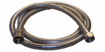 Larsen Supply 08-2023 59-Inch Chrome Plated Stainless Steel Shower Hose