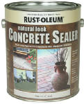 Rust-Oleum 239417 Concrete Sealer, Natural Look, 1-Gal.