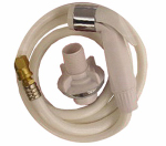 Larsen Supply 08-1527 White Universal Fit Sink Spray & Hose