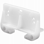 Prime Line Products 22794 1-1/4-Inch White Drawer Track Guide