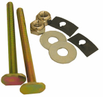 Larsen Supply 04-3633 Toilet Closet Bolt Bowl-to-Floor Kit, Brass