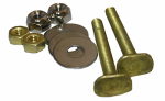 Larsen Supply 04-3637 Toilet Closet Bolt Set, Code Brass, .25 x 2.25-In.