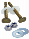 Larsen Supply 04-3649 EZ Snap Toilet Bolt Kit, 5/16 x 2.25-In., 2-Pk.