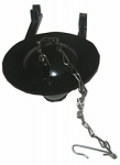 Larsen Supply 04-1587 Toilet Flapper Vinyl, With Chain,Fits Over Posts Of Plastic Flush Valve,Fits Most