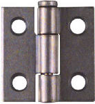 National Mfg/Spectrum Brands Hhi N141-606 2-Pack 1 x 1-Inch Zinc Light Narrow Light-Duty  Hinges