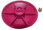 Larsen Supply 04-1607 Toilet Flapper Red Chemical Resistant Combo Seat/Disc.Fits Both Snap And Screw On For American Standard Actuators