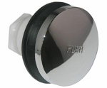 Larsen Supply 03-4901 Bathtub Drain Stopper, Tip-Toe Style, Chrome, 5/16-In.