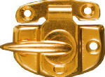 National Mfg/Spectrum Brands Hhi N193-607 Window Sash Lock, Cam-Action, Bright Brass Finish