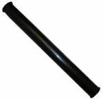 Larsen Supply 03-4317A Black Plastic Tubular,1-1/2-Inch X 16-Inch Flanged Both Ends Tailpiece,Carded