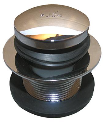 Lasco 03-4813 Bathtub Tip Toe Drain, Chrome-Plated Brass, 1.