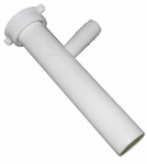 Larsen Supply 03-4331 Dishwasher Branch Tailpiece, PVC, 8-In.