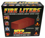Fire Liters 10192 192-Pack Fire Lighters