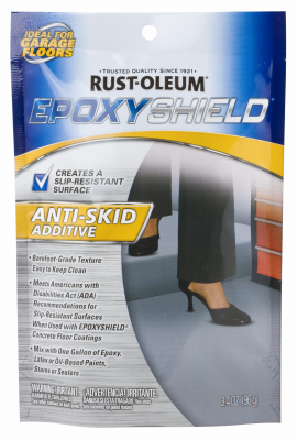 6 rust oleum 279847 epoxy shield 3 4 oz anti skid anti for No skid paint
