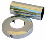 Larsen Supply 03-1651 Price Pfister, Chrome, Tub & Shower, Tube & Flange