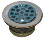 Larsen Supply 03-1027 Sink Strainer, Chrome, 2-In. Drain Opening x 1.5-In.