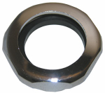 Larsen Supply 03-1861 1-1/4-Inch,Chrome Plated Brass ,Slip Joint Nut With Washer,Carded