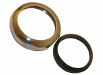 Larsen Supply 03-1873 1-1/2-Inch,Chrome Plated Brass,Slip Joint Nut With Washer,Carded