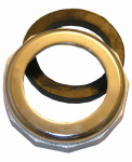 Larsen Supply 03-1827 1-1/2-Inch X 1-1/4-Inch,Chrome Plated , Reducing Slip Joint Nut With Washer,Carded