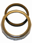 Larsen Supply 03-1835 1-1/2-Inch,Chrome Plated ,Slip Joint Nut With Washer,Carded