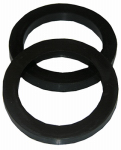 Larsen Supply 02-2267 Rubber ,1-1/2 X 1-1/4- Inch,Reducing Slip Joint Washers,Carded