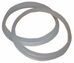 Larsen Supply 02-2281 Plastic/Poly,1-1/4-Inch Beveled Slip Joint Washers,Carded