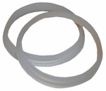 Larsen Supply 02-2283 Plastic/Poly,1-1/2-Inch Beveled Slip Joint Washers,Carded