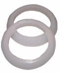 Larsen Supply 02-2287 Plastic/Poly,1-1/2 X 1-1/4-Inch Beveled Reducing Slip Joint Washers,Carded