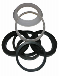 Larsen Supply 02-2289 Plastic And Rubber,Assorted Sizes,Slip Joint Washers,Carded