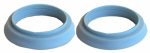 Larsen Supply 02-2297 Vinyl,1-1/2 X 1-1/4-Inch Solution Slip Joint Reducing Washers,Carded