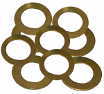 Larsen Supply 02-2333 Brass Assorted Friction Rings (10 PK)