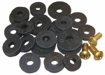 Larsen Supply 02-1263 Washer Assortment, Flat Washers With Screws