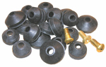 Larsen Supply 02-1265 Washer Assortment, Beveled, Washers, With Screws
