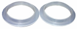 Larsen Supply 02-2051 Plastic,1-1/2 - Inch Flanged Tailpiece Washers,Carded