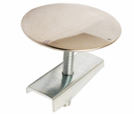 Larsen Supply 03-1447 Stainlees Steel,Sink Hole Cover,1-3/4-Inch,With Wing Nut,Carded