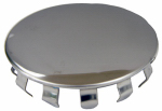 Larsen Supply 03-1453 Stainlees Steel,Sink Hole Cover,1-1/2-Inch, Snap In,Fits Most Sinks,Carded