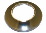 Larsen Supply 03-1545 Sure Grip, Chrome Plated Shallow Flange,Fits 1-1/2-Inch Outside Diameter Tubing,Carded